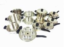 Amway クィーン クックウェア 24ピース セット 鍋 調理器具 アムウェイの買取