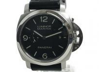 PANERAI パネライ ルミノール マリーナ 3デイズ PAM00312 パワーリザーブ 黒文字盤 メンズ