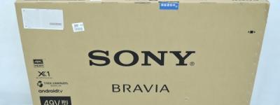 SONY ソニー BRAVIA KJ-49X8500 F 4K 液晶テレビ 49V型