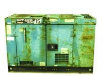 DENYO デンヨー DCA-15SPY 3 III 大型 業務用 デンヨー発電機 工具 15kVA