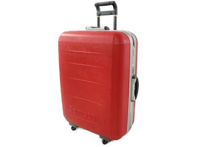 Samsonite WORLDPROOF Clear Red スーツケース 97L