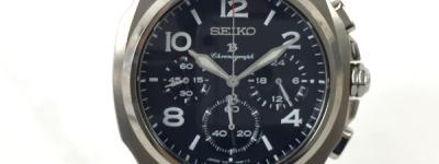 SEIKO BRIGHTZ セイコー ブライツ クロノグラフ 7J21-0AA0 黒文字盤 クォーツ メンズ