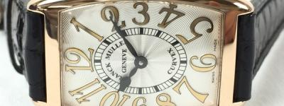 FRANCK MULLER フランクミュラー トノーカーベックス サンセット 1752QZ 5N シルバー文字盤 RG クォーツ レディース