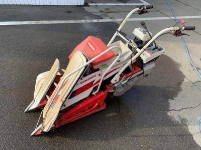 長野県長野市発 ヤンマー 一条刈り バインダー 動力刈取機 農業機械 農機具 直
