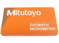 Mitutoyo マイクロメーター MDC-50MXT ラチェットシンプルタイプ