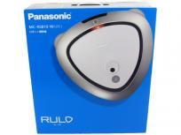 Panasonic ロボット掃除機 ルーロ MC-RS810-W クリアホワイト