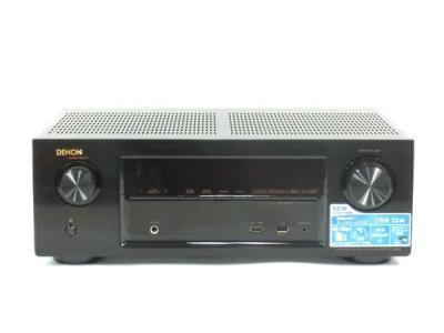 DENON AVR-X1100W-K AV レシーバー 7.2ch Wi-Fi Bluetooth ワイヤレス