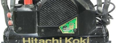 日立 EC1445H2 B 高圧 エア コンプレッサ 540L