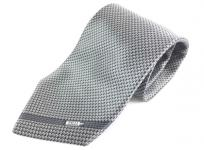 ZILLI ジリー 総柄 ネクタイ メンズ シルク100 プリント メンズ