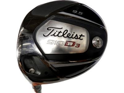 Titleist タイトリスト 910D3 9.5 TOUR AD DJ-6S FLEX S ゴルフクラブ 左 レフティ