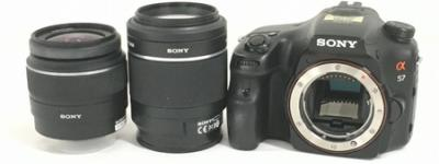 SONY α57 ボディ ダブル ズーム レンズ キット ソニー デジタル 一眼レフ カメラ