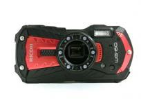 RICOH WG-60 デジタルカメラ 防水 防塵 レッド