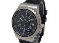 Swatch スウォッチ 自動巻き 腕時計 裏スケ メンズ ラバーベルト