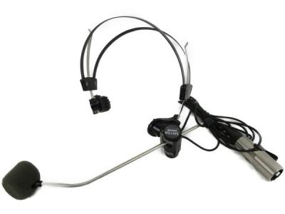 SHURE SM10A ダイナミック型 ヘッドフォーン型 マイク 軽量 ヘッドバンド