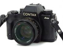 CONTAX ARIA フィルム 一眼レフ カメラ ボディ Carl Zeiss Planar 50mm 1.4 レンズ セット