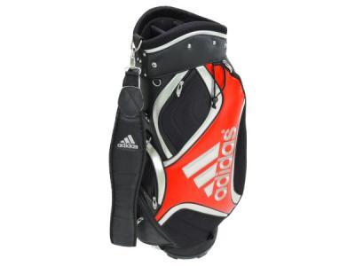 adidas アディダス QR604 キャディバッグ 9.5型 ゴルフ用品