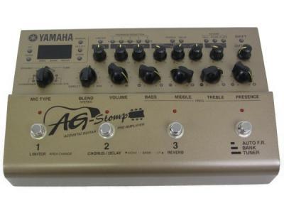 YAMAHA ヤマハ AG-Stomp アコギ用 マルチエフェクター