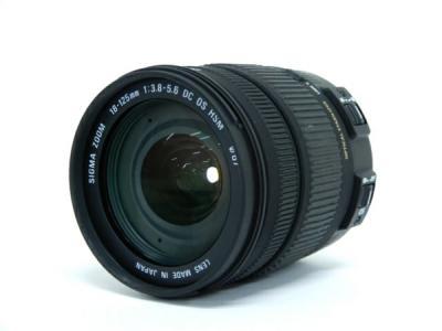 SIGMA シグマ 18-125mm F3.8-5.6 DC OS HSM Canon キヤノン用 カメラ ズームレンズ