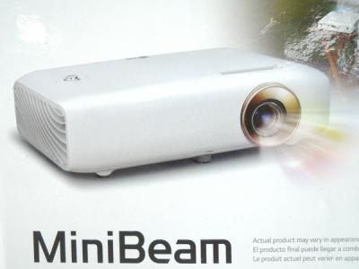 LG miniビーム PH550G 550lm プロジェクター ホームシアター 映像 機器