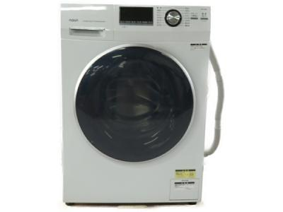 アクア 8.0kg ドラム式洗濯機左開きホワイトAQUA Hot Water Washing(乾燥機能なし) AQW-FV800E-W