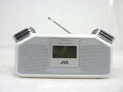 JVC ポータブル デジタル レコーダー RD-R1-W ホワイト 音響 機器