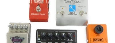 MXR KORG Marshall エフェクター一式 5台 セット ディストーション ディレイ FUZZ など オーディオ 音響 器材