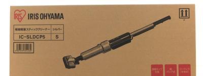 IRIS OHYAMA IC-SLDCP5 極細 軽量 スティック クリーナー 掃除機 家電 アイリスオーヤマ