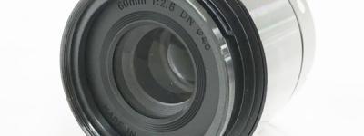 SIGMA 60mm F2.8 DN カメラ レンズ マイクロフォーサーズ用