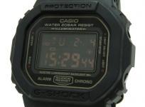 CASIO カシオ G-SHOCK Gショック マットブラック レッドアイ DW-5600MS クォーツ メンズ