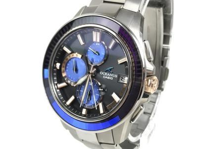 CASIO カシオ OCEANUS オシアナス OCW-S4000S 150本限定モデル 江戸切子 シリアル040/150 腕時計