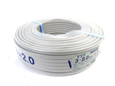 昭和電気 VVF 3×2.0mm ビニル絶縁ビニルシースケーブル 100m