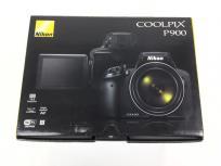 Nikon ニコン デジタルカメラ COOLPIX P900 ブラック デジカメ コンデジ ネオ一眼 超望遠