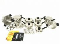 Amway アムウェイ クィーン クック 24ピース セット 調理器具 鍋 フライパンの買取