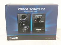 Fluid Audio F4 2Way バスレフ型 Monitor Speaker ブラック