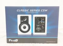 Fluid Audio C5W 2Way バスレフ型 Monitor Speaker ホワイト