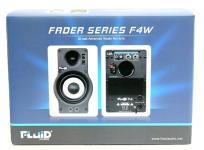 Fluid Audio F4W 2Way バスレフ型 Monitor Speaker ホワイト