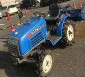 広島県広島市発 イセキ トラクター SIAL5 シアル5 TF5F-XD 14.8馬力 339時間 4WD 自動水平 自動耕深 農機具 農業機械の買取