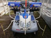田植応援セール愛知県発 イセキ 田植え機 PQZ5 DULF さなえ 5条 セルモーター パワステ 側条施肥機 Zロータ ロータリー式 直の買取