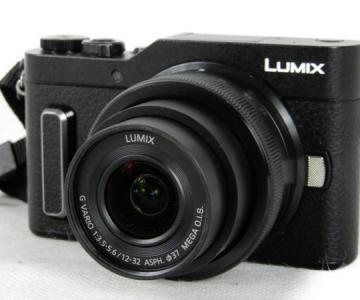 Panasonic パナソニック DC-GF10W LUMIX G 4K デジタル カメラ ブラック レンズ キット
