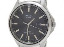 SEIKO セイコー PULSAR BUSINESS パルサー ビジネス PX3073 デイト ソーラー メンズ