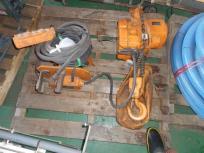 キトー 電動チェーンブロック 2t 横移動電動 200V ホイスト 電動トロリー 2トン 直