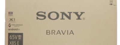 SONY KJ-65X8500E 液晶テレビ ブラビア TV テレビ台付