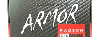 MSI Radeon RX 570 ARMOR 4G OC グラフィックスボード VD6330