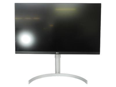 LG モニター ディスプレイ 27UK850-W 27インチ/4K/HDR対応/IPS非光沢/USB-Type-C、HDMI×2、DisplayPort/スピーカー搭載/FreeSync、高さ調節、ピボット対応