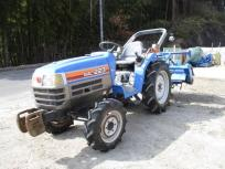 田植え応援セール滋賀県発 イセキ 4WD 23馬力 トラクター TF223F-UQ 自動水平 バックアップ ロータリー ARF140 安全バー 直の買取