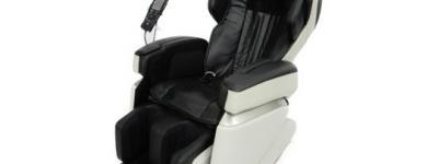FUJIIRYOKI フジ医療器 CYBER-RELAX AS-1000 マッサージチェア ブラック 家庭用電気マッサージ器 大型