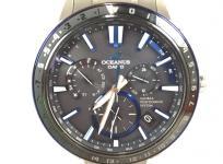 CASIO OCEANUS カシオ オシアナス OCW-G1200-1AJF 黒文字盤 電波ソーラー チタン メンズ