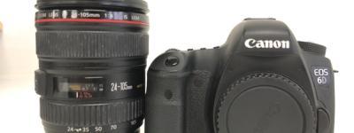 Canon EOS 6D EF 24-105mm F4 L IS USM レンズ ボディ セット カメラ