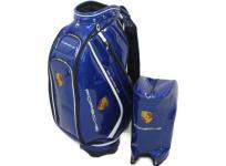 PORSCHE ポルシェ キャディバッグ 9.5型 ブルー系 ゴルフ用品
