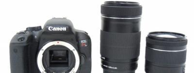 Canon EOS Kiss X9i デジタル一眼レフカメラ 18-55 55-250 ダブルズームキット